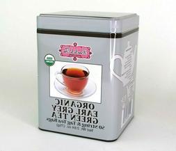 Brew La La Tea Organic Earl Grey Green Tea 50 String & Tag B