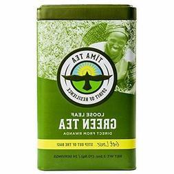 Tima Tea Organic Fair Trade Green Loose Leaf Tea 2.5 oz.