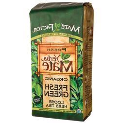 Organic Fresh Green Yerba Mate 12 oz Mate Factor Loose Herb