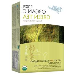 organic green tea 100 bag