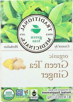 Traditional Medicinals-Organic Green Tea Ginger, 1