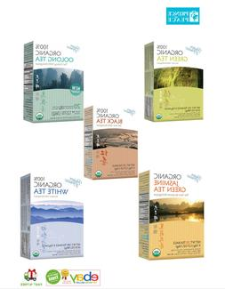 Prince of Peace Organic Green Tea, Oolong Tea, Pu-Erh Tea, W