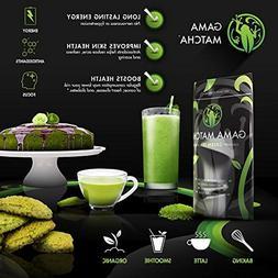 100% ORGANIC Matcha Green Tea Powder USDA Stone Ground