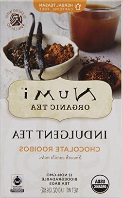 Numi Organic Indulgent Tea, Chocolate Rooibos,  Caffeine Fre