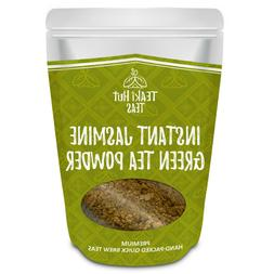 TEAki Hut Organic Instant Jasmine Green Tea Powder