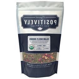 Organic Island Breeze Green Rooibos Tea, Loose Leaf Tea Bag,