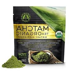 Organic Japanese Matcha Green Tea Powder Dietary Supplement