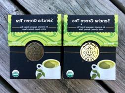 Organic Japanese Sencha Green Tea - Antioxidant Tea, Kosher,