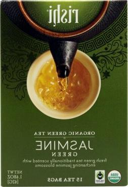 Rishi Tea Organic Jasmine Green Tea Bags, 15 Count