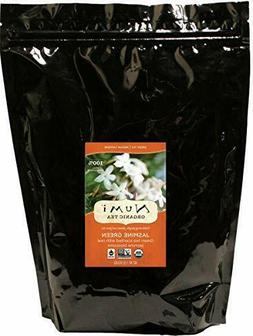 Numi Organic Tea Jasmine Green Tea, Loose Leaf 16 Ounce Bulk