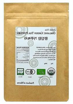 100%  Organic Korean Matcha Green Tea Powder 200g, Certified