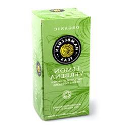 Hamblenden Teas Organic Lemon Verbena Tea 20 Enveloped Teaba