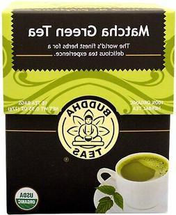 Organic Matcha Green Tea Bags - Has Caffeine - Gourmet Blend