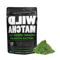 Organic Matcha Green Tea Powder, Wild Matcha #2 Ceremonial G