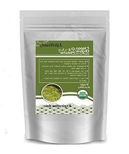 HealthyOrigin Organic Matcha Green Tea Powder Loose Tea 16 O