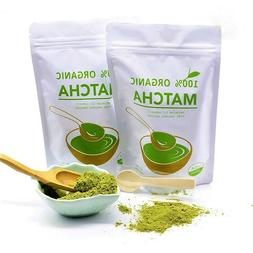 Organic Matcha Green Tea Powder Culinary and Ceremonial Grad