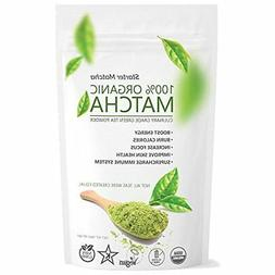 Organic Matcha Green Tea Powder 16 oz Best Quality Kosher Ve