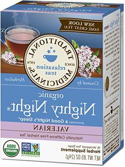 Traditional Medicinals Organic Nighty Night Valerian Relaxti