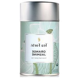 NEW Tea Forte  ORGANIC ORANGE JASMINE  Loose Leaf Green Tea