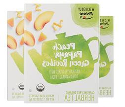 Wickedly Prime Organic Peach Papaya Rooibos Tea, Full-Leaf B