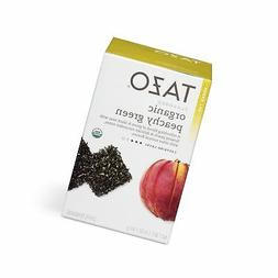 Tazo Organic Peachy Green Tea Filterbags, 20 Count