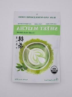 Organic Sweet Matcha Green Tea Powder Cafe Style Blend 16 oz