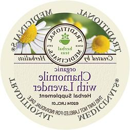 Traditional Medicinals Organic Chamomile with Lavender Tea,