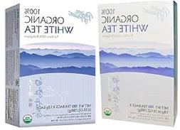 Prince of Peace Organic White Tea 100ct 2 Pack