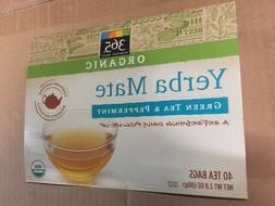 365 EVERYDAY VALUE ORGANIC YERBA MATE GREEN TEA & PEPPERMINT