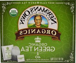 Newman's Own Organics, Green Tea Bags, 40 Count