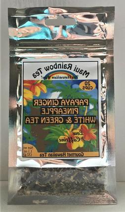 Maui Rainbow Tea - Papaya Ginger Pineapple White & Green Tea