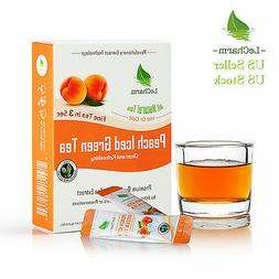 Peach Green Instant Tea on the Go LeCharm 100% Natural Tea E