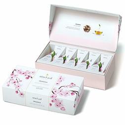 Tea Forté Petite Presentation Box Tea Samplers,10 Pyramid T