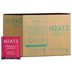 Stash Tea Pomegranate Raspberry Green Tea, 100 Count Box of