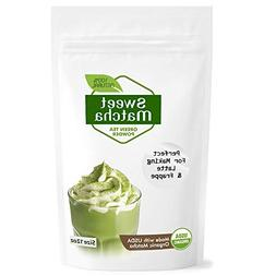 Japanese Sweet Matcha Green Tea Powder  Latte Grade; Delicio