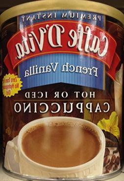 Caffe D'Vita Powdered Instant French Vanilla Cappuccino, 16