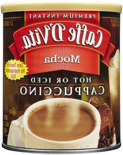 Caffe D'Vita Powdered Instant Mocha Cappuccino, 16