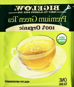 Bigelow Premium 100% Organic Chinese Green Tea, Individually