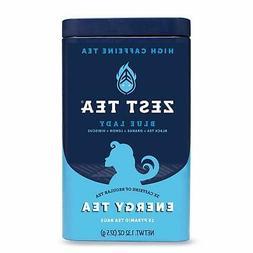 Zest Tea Premium Energy Tea, High Caffeine Coffee Substitute