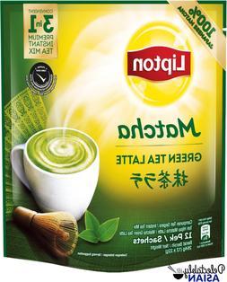LIPTON Premium Instant Tea Mix Green Tea Latte MATCHA 12 sac