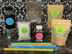 Premium Matcha Green Tea Boba Bubble Tea Powder Milk Tea DIY