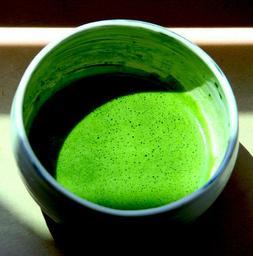 premium organic japanese matcha powder pure green