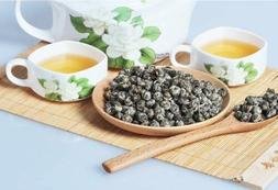 Premium Organic Green Tea King Grade Pearl Jasmine Dragon Ba