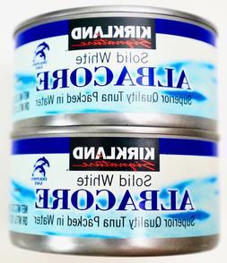 Kirkland Signature Premium Solid White Albacore Tuna in Wate