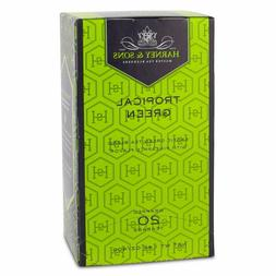 Harney and Sons Premium Tea - Tropical Green - 20 count - 2