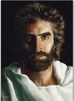 """Prince of Peace 9"""" x 12"""" Fine Art Canvas Giclee with Jesus F"""