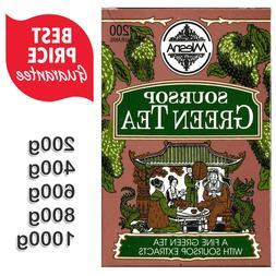 Mlesna Pure Ceylon Soursop Green Tea Graviola Loose Tea Boxe