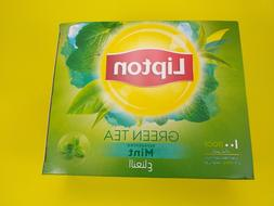 LIPTON PURE GREEN TEA WITH MINT 100 BAGS - Ship From USA
