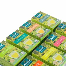 DILMAH Pure Natural CEYLON GREEN TEA with Ginger | cinnamon