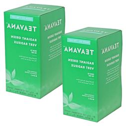 Teavana Radiant Green Tea Bags 2 x 24 Count Boxes